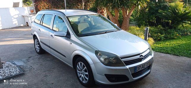 Opel Astra caravan 1.4 - cinza prata - BOM PREÇO