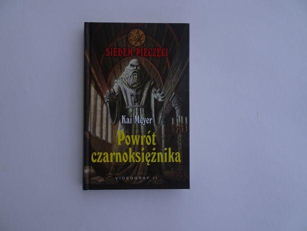 Książka Powrót czarnoksiężnika.