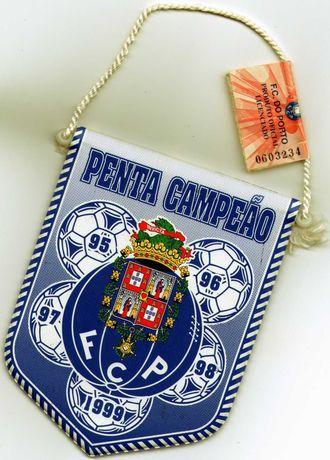 Galhardete do Futebol Clube do Porto - Penta Campeão 1995/1999