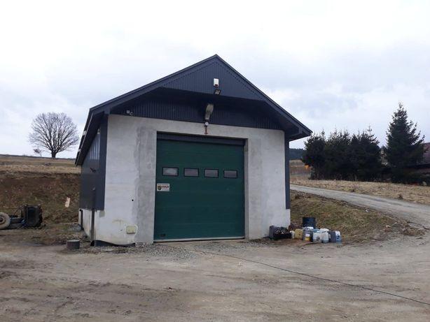 Hala garażowa Duża