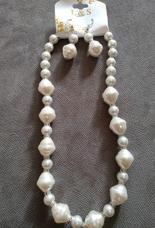 Набор колье ожерелье и серьги