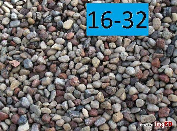 Żwir 16-32 drenaż. Ozdobny do ogrodu