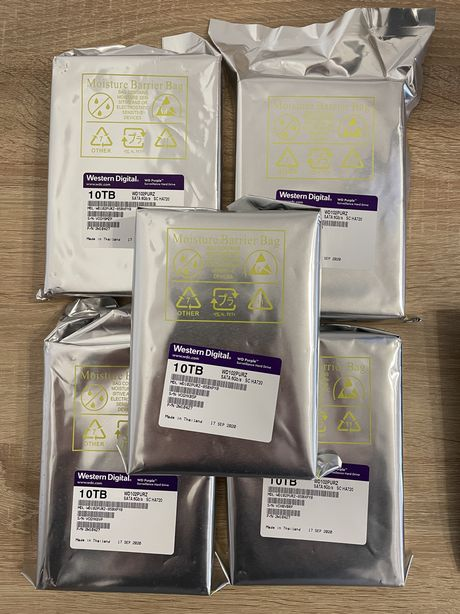 Hdd 10 tb WD Purple