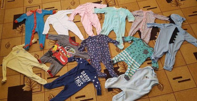 Чоловічки,человечки,пакет 3-6мес одежди,ромпер,слип,человечек, пижама