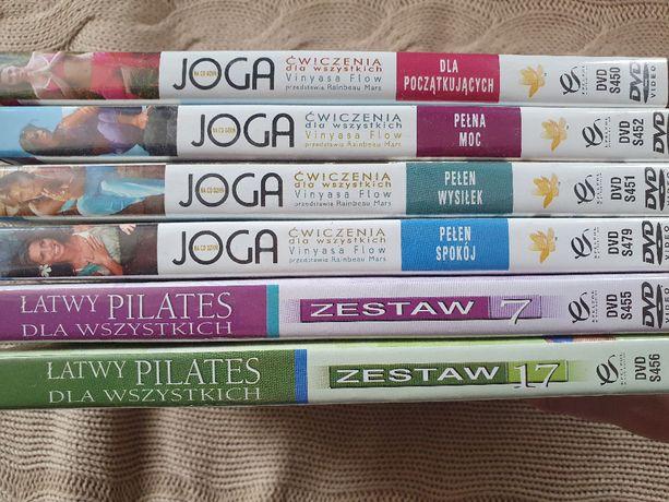 Joga i pilates płyty DVD