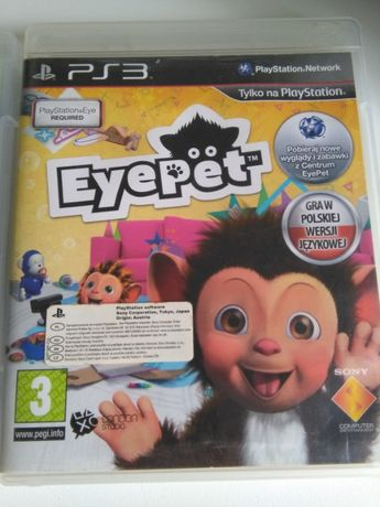 Gra na PS Eye Pet