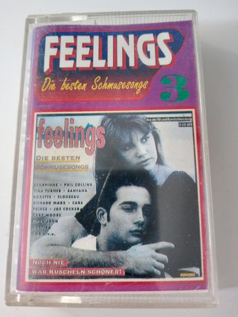 Kaseta magnetofonowa Feelings Die Besten Schmusesongs 3