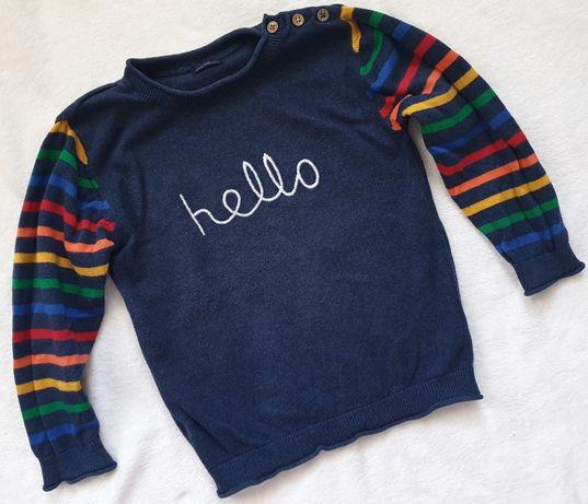Next modny sweterek 4-5lat 110cm