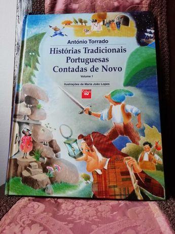 Livro Histórias tradicionais portuguesas contadas de novo