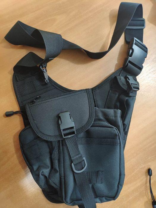 Наплечная сумка с плотной основой мужская производитель Германия Херсон - изображение 1