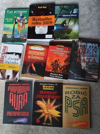 Zestaw książek fantastyka sf wymiana/sprzedaż na sztukilubzestaw nowe