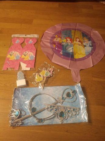 Oferta Portes | Conj. Aniversário Princesas da Disney Decoração Festa