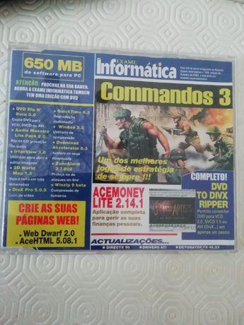Jogos para PC originais vários - Comandos 3