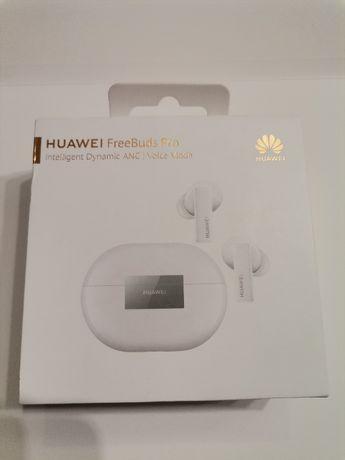 OKAZJA !! Słuchawki Huawei FreeBuds Pro BIAŁE !! KOMPLET! LOMBARD KAPS