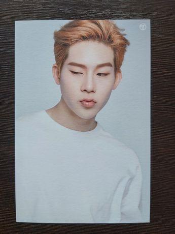 Jooheon Monsta X pocztówka kpop