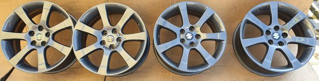"""Suzuki Toyota Nissan 18"""" 5x114.3 Et40 7½J"""
