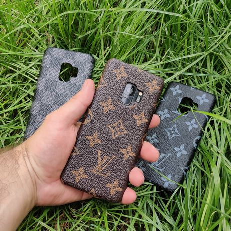 Кожаный чехол Louis Vuitton Samsung s8 s9 plus s10 s10e note 8 9