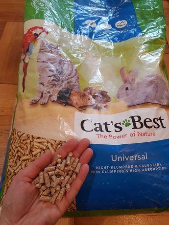 Żwirek dla kota, świnki, królika 22kg Cat's best
