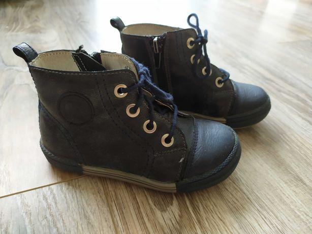 Buty buciki skórzane Kornecki 25