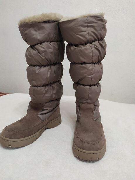 Зимние женские сапоги Skechers