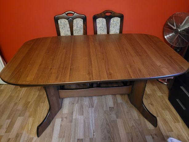 Stół drewniany solidny  160x90 rozkladany