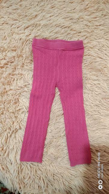 Лосины, розовые штанишки, штаны, поддева