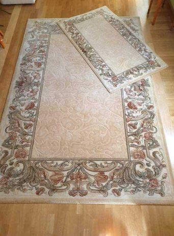 Dywany wełniane komplet