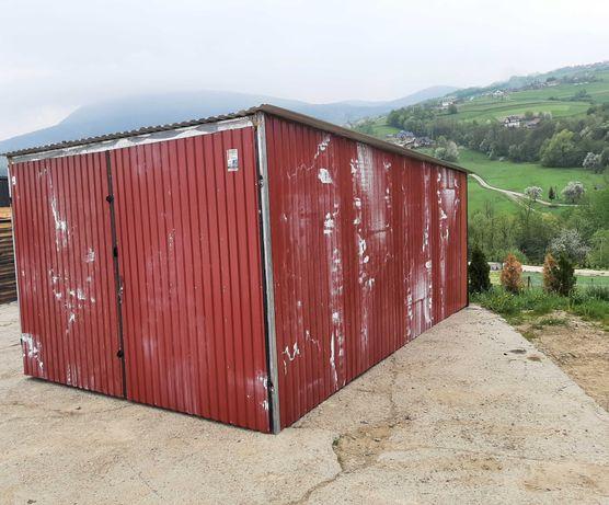 Garaż blaszany 3x5 na budowę