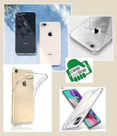 Capa Silicone Slim P/ iPhone 6 / 7 / 8 / 7 Plus / 8 Plus / X /XS / XR