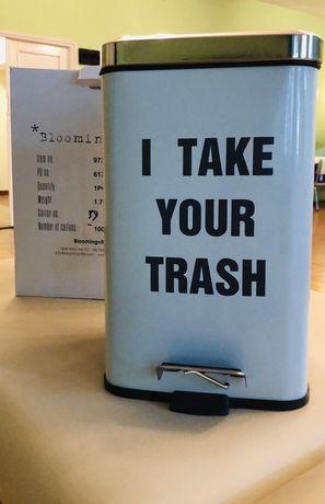 Nowy Kosz na śmieci Bloomingville! I take your trash! Okazja!