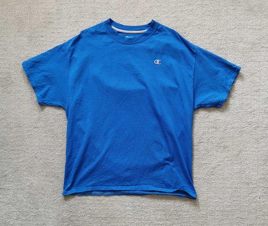 T shirt Champion Homem Royal blue Tamanho XL