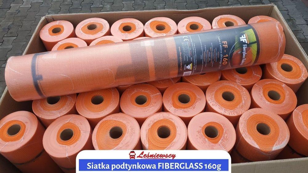 SIATKA podtynkowa elewacyjna Fiberglass Fabrics 160g SUPER JAKOŚĆ kuri