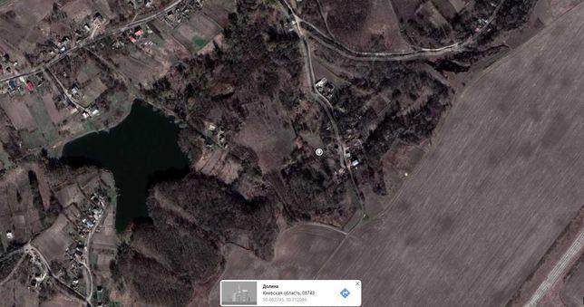 Земельный участок 31 сотка, с. Долина, Обухов, под строительство