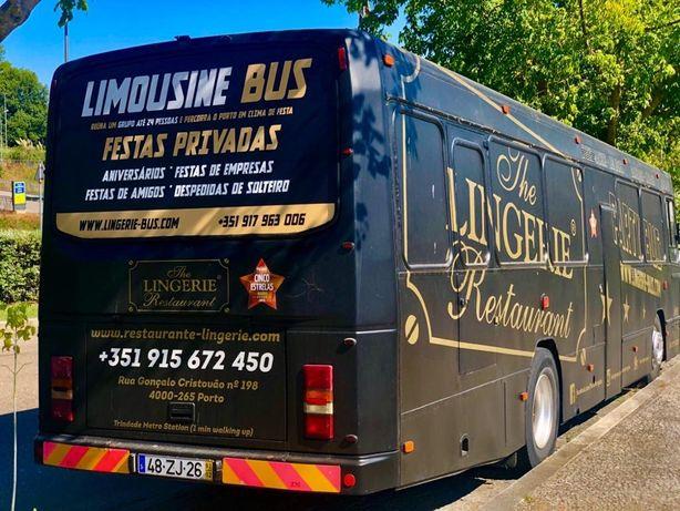 Autocarro Limousine Party Bus
