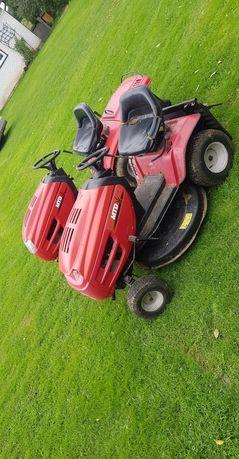 Dwa traktorki mtd kosiarki