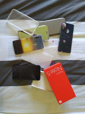 Xiaomi redmi note 5 + acessórios