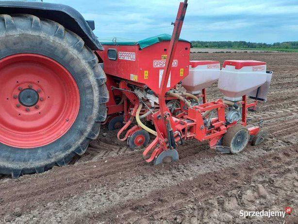Usługa siewu kukurydzy siewnik 6 rzędów , podsiew nawozu