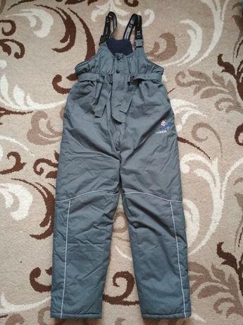 Полукомбинезон зимний, горнолыжные теплые штаны