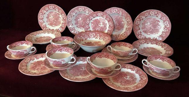 Столовый сервиз тарелки бульонницы блюда салатник Wedgwood Англия