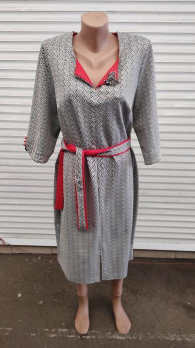 Платье женское вечернее, трикотажное размер 52 Чернигов - изображение 1