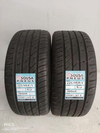 2 pneus com 90% de piso 225-45-17 Mabor - Oferta dos Portes