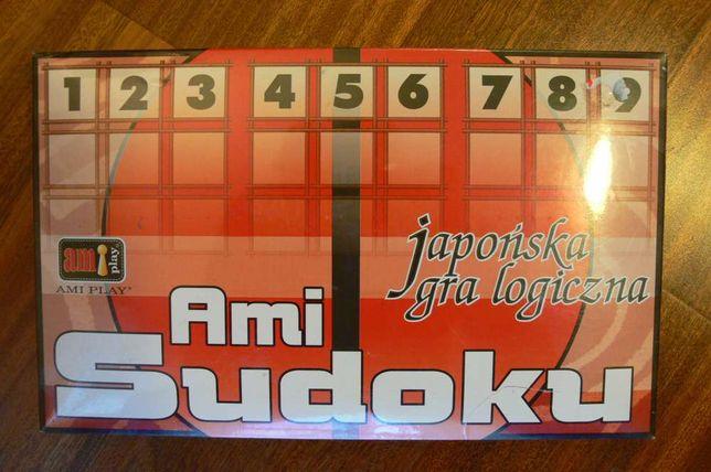 Japońska gra logiczna Ami Sudoku- nowa