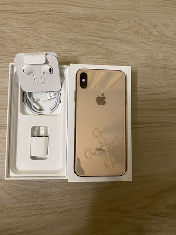 iPhone XS Max Gold 64 Gb Never Lock