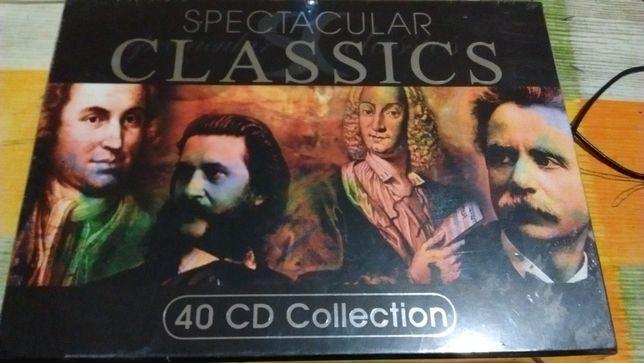 Idealny na prezent. Box 40 płyt CD z muzyką klasyczną
