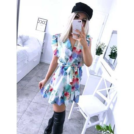 Kolorowa sukienka r. S/M