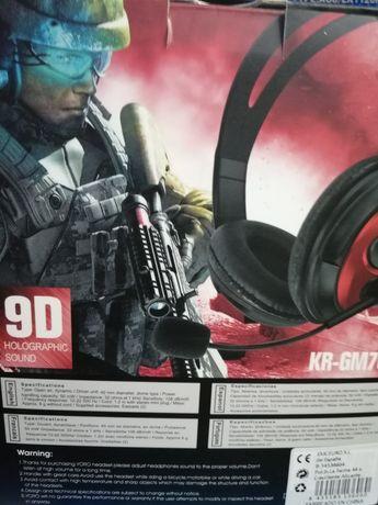 Auscultadores gaming headset PS4 novo