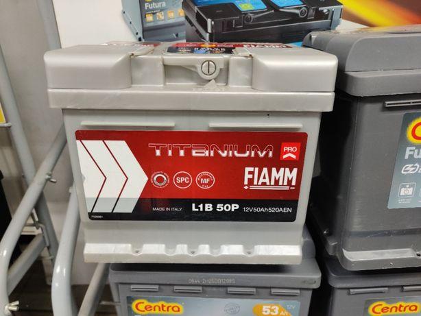 Akumulator Fiamm TITANIUM PRO 12V 50Ah 520A P+ Kraków