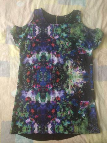 Плаття міні туніка h&m S платье 44р