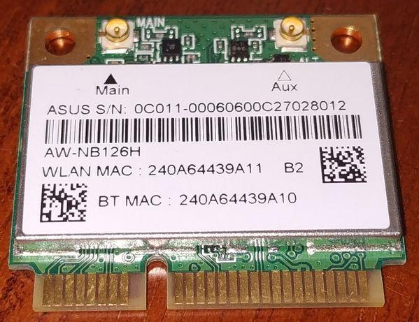 Wi-Fi модуль AzureWave AW-NB126H + bluetooth