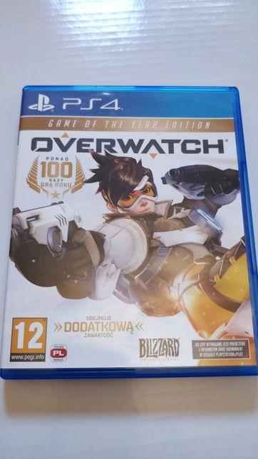Gra na PS4 Overwatch